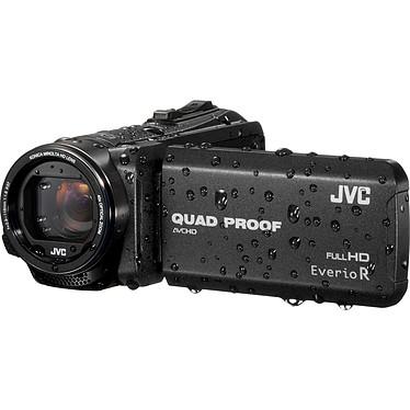 JVC GZ-R415 Noir + Carte SDHC 8 Go Caméscope Full HD tout terrain avec écran LCD tactile et HDMI