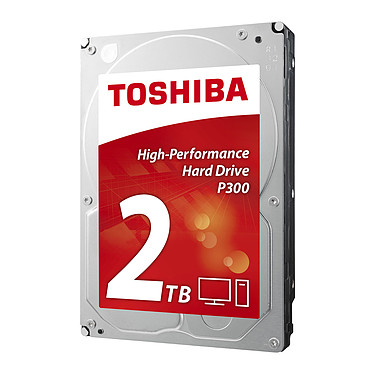 "Toshiba P300 2 To Disque dur 3.5"" 2 To 7200 RPM 64 Mo Serial ATA III 6 Gb/s (version boîte)"