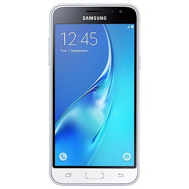 "Samsung Galaxy J3 2016 Blanc Smartphone 4G-LTE - ARM Cortex-A7 Quad-Core 1.5 Ghz - RAM 1.5 Go - Ecran tactile 5"" 720 x 1280 - 8 Go - Bluetooth 4.1 - 2600 mAh - Android 5.1"