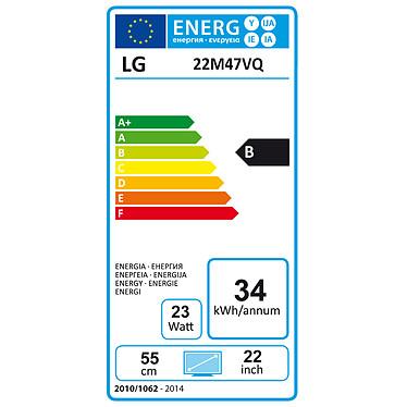 """LG 21.5"""" LED 22M47VQ-B pas cher"""