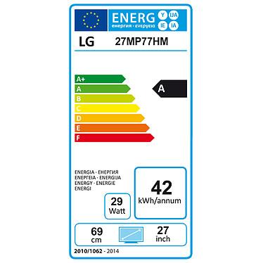 "LG 27"" LED 27MP77HM-P pas cher"