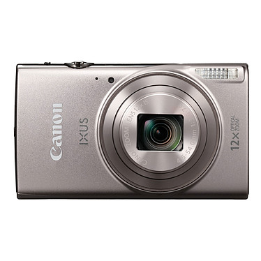 Canon IXUS 285 HS Argent Appareil photo 20 MP - Zoom optique ultra grand angle 12x - Vidéo Full HD - Wi-Fi - NFC