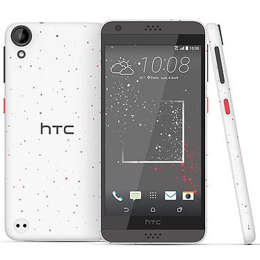 "HTC Desire 530 Remix Blanc/Corail Smartphone 4G-LTE - Snapdragon 210 Quad-Core 1.1 Ghz - RAM 1.5 Go - Ecran tactile 5"" 720 x 1280 - 16 Go - NFC/Bluetooth 4.1 - 2200 mAh - Android 6.0"