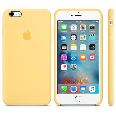 Apple Coque en silicone Jaune Apple iPhone 6s Plus Coque en silicone pour Apple iPhone 6s Plus