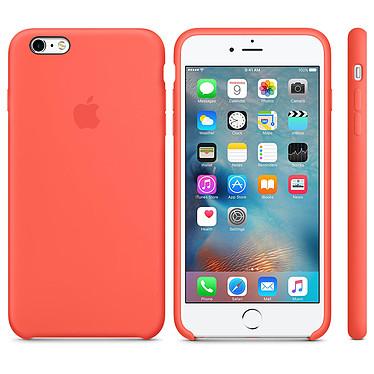 Apple Coque en silicone Abricot Apple iPhone 6s Plus