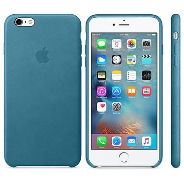 Apple Coque en cuir Bleu Marine Apple iPhone 6s Plus