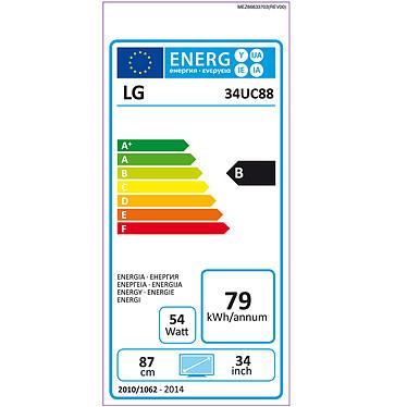 "LG 34"" LED - 34UC88-B pas cher"