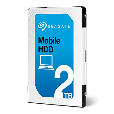 "Seagate Mobile HDD 2 To Disque dur 2.5"" 2 To 5400 RPM 128 Mo Serial ATA 6Gb/s"