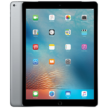 "Apple iPad Pro 12.9"" Wi-Fi + Cellular 256 Go Gris Sidéral Tablette Internet - Apple A9X 4 Go 256 Go 12.9"" LED tactile Wi-Fi AC/Bluetooth/4G Webcam iOS 9"