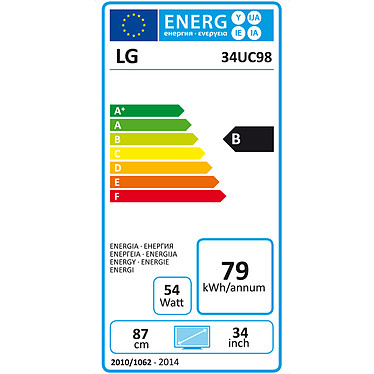 "LG 34"" LED - 34UC98 pas cher"