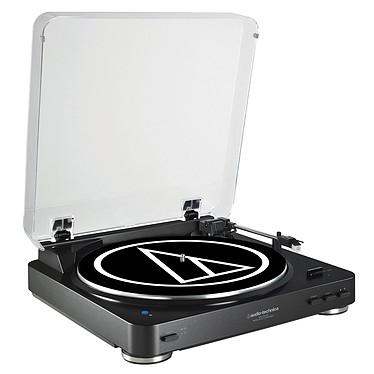 Audio-Technica AT-LP60BT Noir Platine vinyle à 2 vitesses (33-45 trs/min) avec fonction Bluetooth