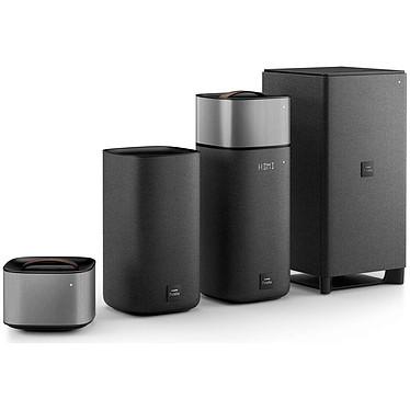 Philips Fidelio E6 Ensemble home cinéma sans fil 5.1 Dolby Digital/Pro Logic II avec Bluetooth/NFC Google Cast et Spotify Connect