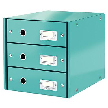 Leitz Bloc de classement à tiroirs Leitz Click & Store Menthe Bloc de classement 3 tiroirs fermés 24 x 32 cm coloris Menthe