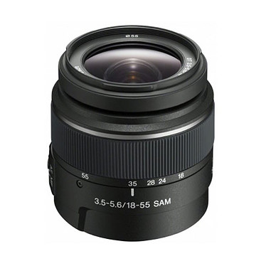 Sony Alpha 68 + Objectif 18-55 mm pas cher