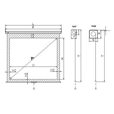 Acheter Vivitek H1188 + LDLC Ecran manuel - Format 16:9 - 220 x 124 cm