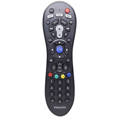 Philips Perfect replacement SRP3013/10 Mando a distancia 3 en 1 universal