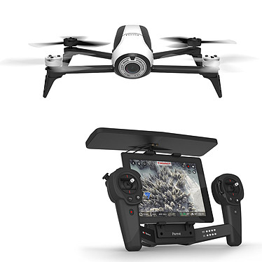 Parrot Bebop Drone 2 Blanc + Skycontroller