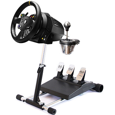 Thrustmaster TX Racing Wheel Leather Edition + TH8 Add-On Shifter + Wheel Stand Pro v2 Ensemble de simulation avec volant à retour de force, pédalier en métal, boite à 7 vitesses et support pliable (compatible PC et Xbox One)