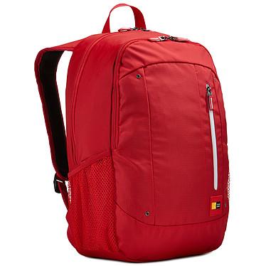 """Case Logic WMBP-115 (rouge) Sac à dos pour ordinateur portable (jusqu'à 15,6'') et tablette (jusqu'à 10.1"""")"""