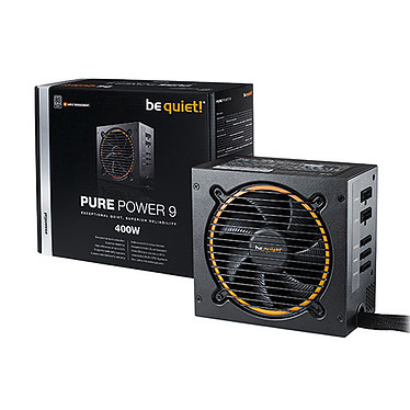 be quiet! Pure Power 9 Modulaire 400W 80PLUS Silver