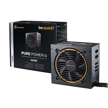 be quiet! Pure Power 9 Modulaire 500W 80PLUS Silver