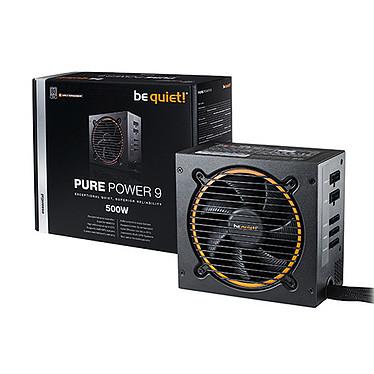 be quiet! Pure Power 9 Modulaire 500W 80PLUS Silver Alimentation modulaire 500W ATX 12V 2.4 / EPS 12V 2.92 (Garantie 3 ans constructeur) - 80PLUS Silver