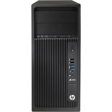 HP Z240 (Y3Y83ET) Intel Core i7-7700K 16 Go SSD 256 Go Graveur DVD Windows 10 Professionnel 64 bits (sans écran)
