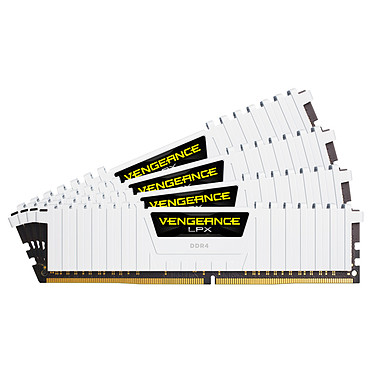 Corsair Vengeance LPX Series Low Profile 64 Go (4x 16 Go) DDR4 2666 MHz CL16