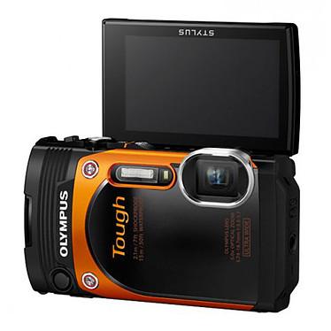 Acheter Olympus TG-860 Orange + Olympus CSCH-121 Noir
