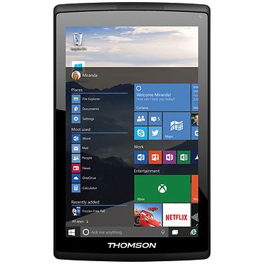 "Thomson Prestige TH-INT8WIN16W10 Tablette Internet - Intel Atom Z3735G 1 Go eMMC 16 Go 8"" LED Tactile Wi-Fi N/Bluetooth Webcam Windows 10 Famille 32 bits"