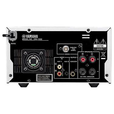 Avis Yamaha CRX-550 Argent + Scansonic S4 Noir