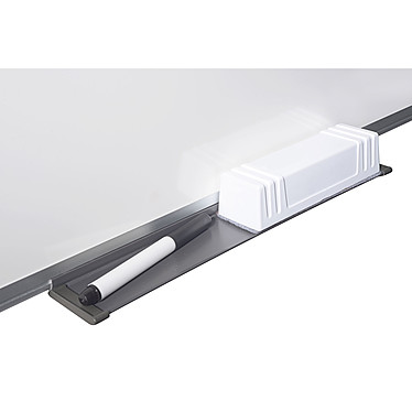 Bi-Office Tableau blanc émaillé 180 x 90 cm + Bi-Office Kit magnétique pas cher
