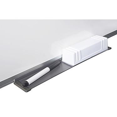 Bi-Office Tableau blanc émaillé 120 x 90 cm + Bi-Office Kit magnétique pas cher