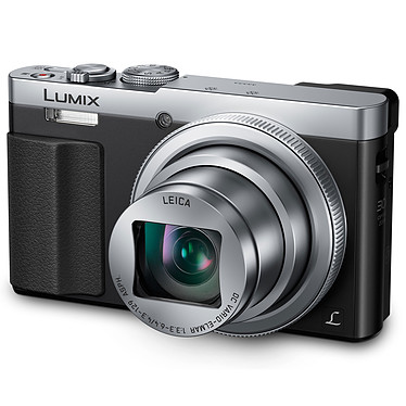 Panasonic DMC-TZ70 plata Cámara de 12,1 MP - Zoom óptico 30x - Vídeo Full HD - Wi-Fi y NFC