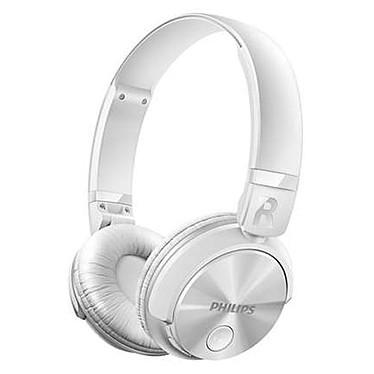 Philips SHB3080 Blanc Casque supra-auriculaire fermé sans fil Bluetooth