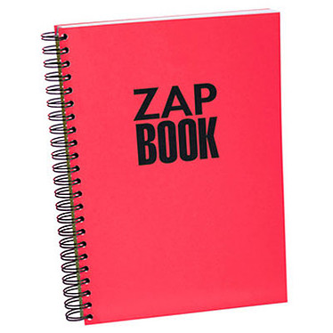 Clairefontaine Zap Book A4 spirale 320 pages 80g