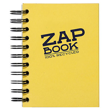 Avis Clairefontaine Zap Book 11 x 15 cm spirale 320 pages 80g
