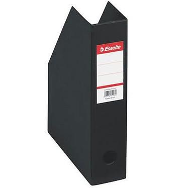 Esselte Lot de 10 porte-revues dos PVC de 10 cm Noir