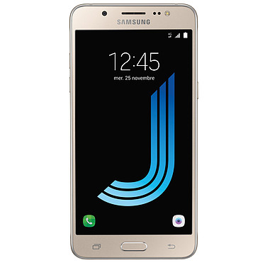 "Samsung Galaxy J5 2016 Or Smartphone 4G-LTE - Snapdragon 410 Quad-Core 1.2 Ghz - RAM 2 Go - Ecran tactile 5.2"" 720 x 1280 - 16 Go - NFC/Bluetooth 4.1 - 3100 mAh - Android 6.0"