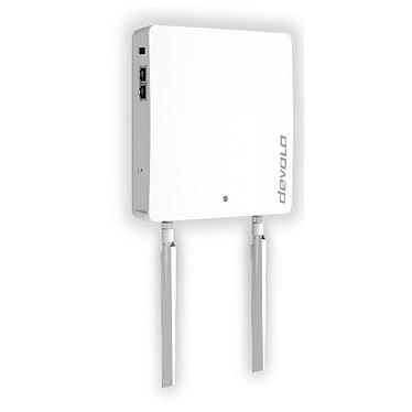 Devolo WiFi pro 1200e Point d'accès sans fil 1200 Mbps Wi-Fi AC Dual band (AC867 + N300) 2x2 MIMO PoE
