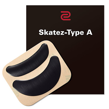 BenQ Zowie Skatez-A Patins de remplacement en téflon pour souris Zowie FK1 / FK2 / ZA11 / ZA12