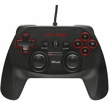 Trust Gaming GXT 540 Yula Manette filaire (compatible PC / PlayStation 3)