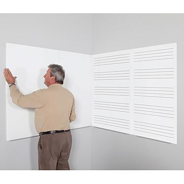 Avis Rocada Tableau blanc métallique 75 x 115 cm
