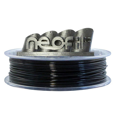 Neofil3D Bobine PET-G 2.85mm 750g - Noir transparent