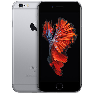 "Apple iPhone 6s 128 Go Gris Sidéral Smartphone 4G-LTE Advanced - Apple A9 Triple-Core 1.5 GHz - RAM 2 Go - Ecran Retina 4.7"" 750 x 1334 - 128 Go - NFC/Bluetooth 4.2 - 1715 mAh - iOS 9"