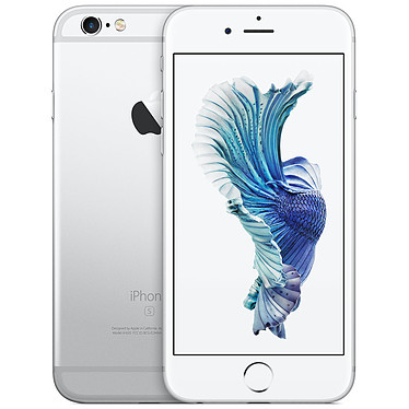 "Apple iPhone 6s Plus 128 Go Argent Smartphone 4G-LTE Advanced - Apple A9 Triple-Core 1.5 GHz - RAM 2 Go - Ecran Retina 5.5"" 1080 x 1920 - 128 Go - NFC/Bluetooth 4.2 - 2915 mAh - iOS 9"