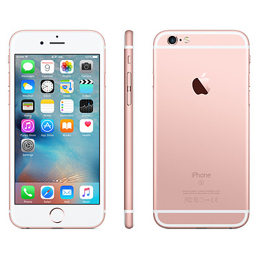 Acheter Apple iPhone 6s Plus 128 Go Rose Or