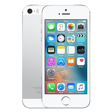 "Apple iPhone SE 16 Go Argent Smartphone 4G-LTE Advanced - Apple A9 Dual-Core 1.8 GHz - RAM 2 Go - Ecran Retina 4"" 640 x 1136 - 16 Go - NFC/Bluetooth 4.2 - 1642 mAh - iOS 9"
