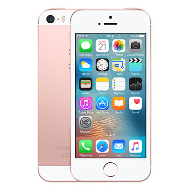 "Apple iPhone SE 64 Go Rose Or Smartphone 4G-LTE - Apple A9 Dual-Core 1.8 GHz - RAM 2 Go - Ecran Retina 4"" 640 x 1136 - 64 Go - NFC/Bluetooth 4.2 - 1642 mAh - iOS 9"