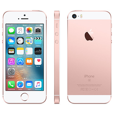 Avis Apple iPhone SE 64 Go Rose Or